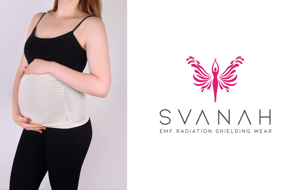 Svanah anti radiation pregnancy belly band